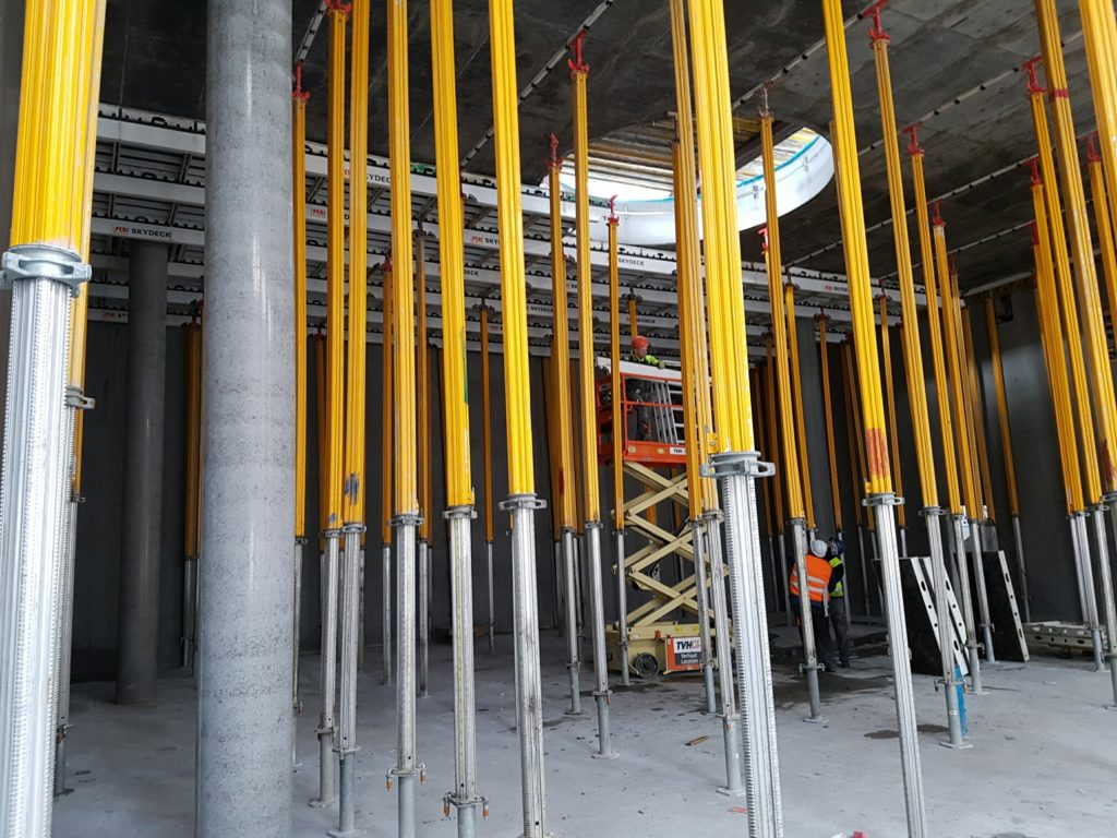 Coffrage grande hauteurs : Site Industriel – Alheembouw